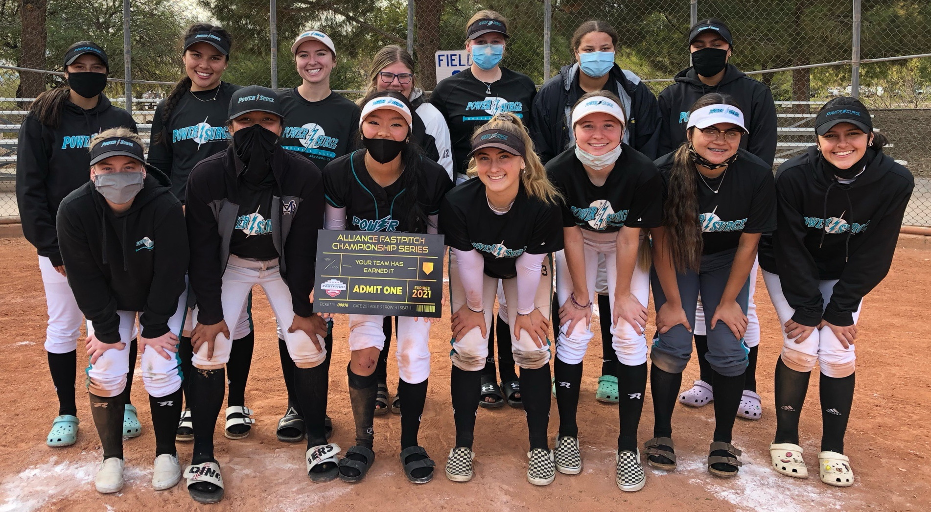 18U POWER SURGE GOLD - WALLING QUALIFIES FOR ALLIANCE NATIONAL CHAMPIONSHIP
